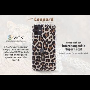 ISO IPhone 11 cheetah loopy case!!